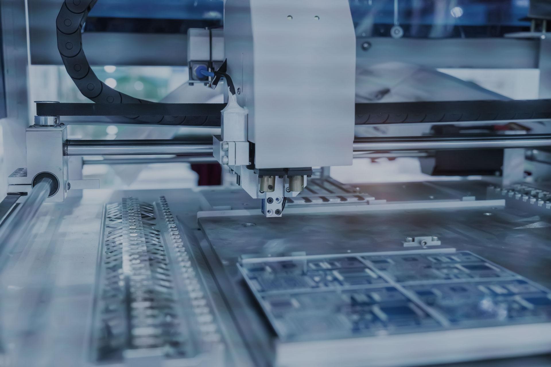 Fertigungsmaschine für PCBs Leiterplatten